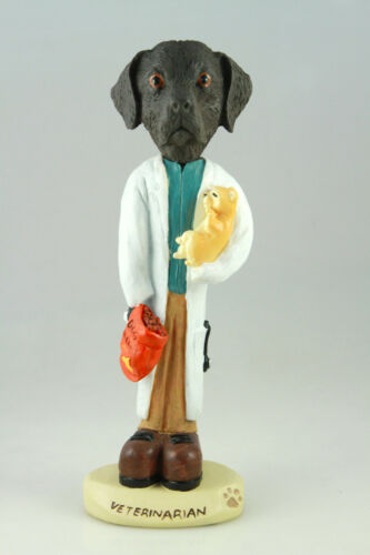 VETERINARIAN CHOCOLATE LAB-SEE INTERCHANGEABLE BREEDS /& BODIES @  STORE