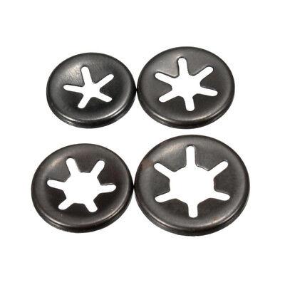 3 mm 6mm Starlock Push On Fasteners Locking Washers Speed Locking Round Clips