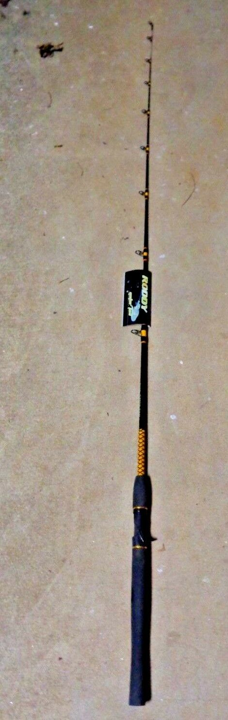 PENN RODDY GATOR TAIL 1 PC 6FT-ADDITIONAL RODS SHIP FREE