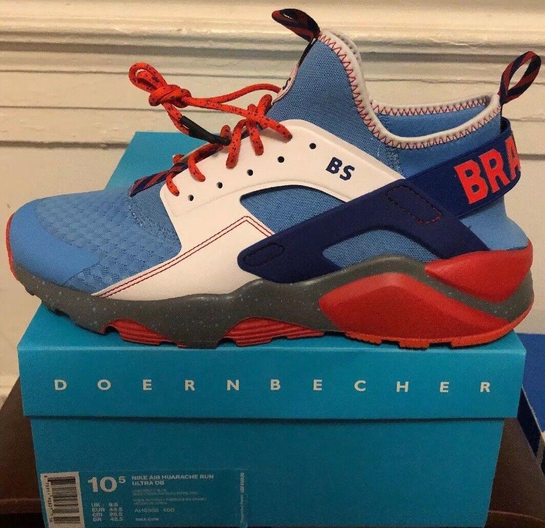 f6cf30314571 Nike Air Huarache Run Ultra DB Doernbecher Brayden Strong Ah6986 400 ...