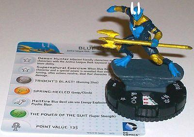 DC Heroclix Justice League Trinity War 046 Blue Devil Rare