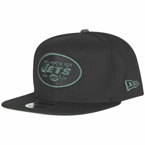 NEW ERA ORIGINALE-Fit Snapback Cap-New York Jets Nero