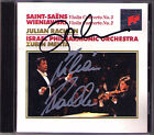 Julian RACHLIN & MEHTA Signed SAINT-SAENS WIENIAWSKI Violin Concerto CD Zubin