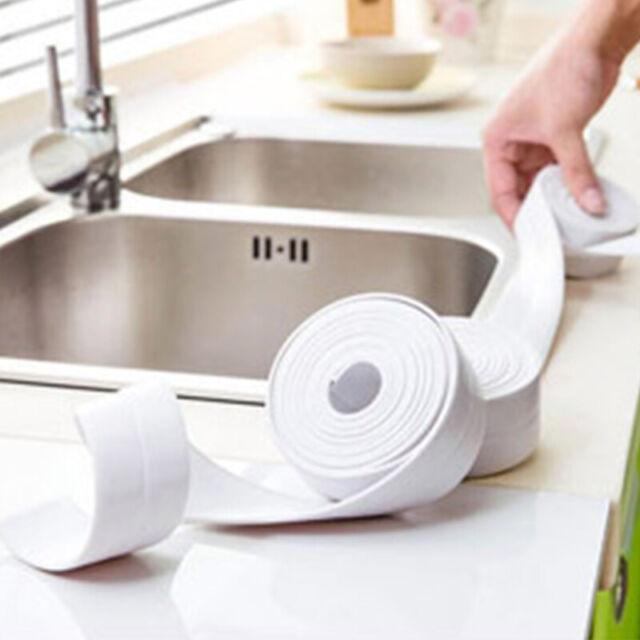 Bathtub Caulk Seal Strip Kitchen Sink Bathroom Diy Waterproof Self