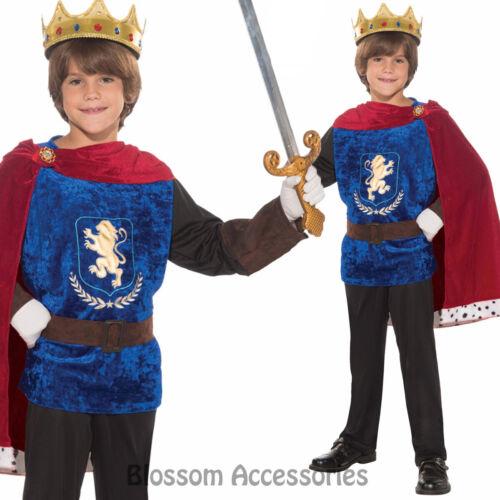 CK656 Royal Prince Charming Fairytale Medieval Boys Kids Fancy Costume Book Week