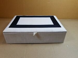 Pottery Barn Madison Fabric Jewelry Collection Box