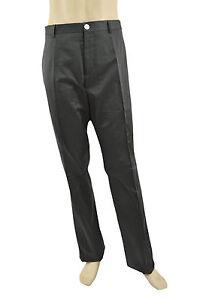 495-BURBERRY-LONDON-Gray-Dress-Casual-Pantalon-Homme-Nouvelle-collection