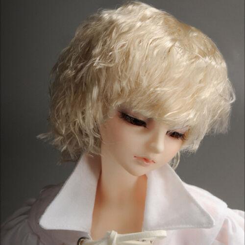 1//4 BJD MSD Wig 18-20 cm 7-8 inch  Haul Blonde DM