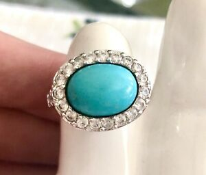 Turquoise Ring Size 6