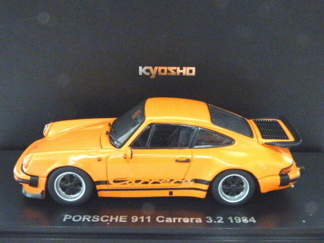 Kyosho Porsche 911 Carrera 3.2 1984 (orange)