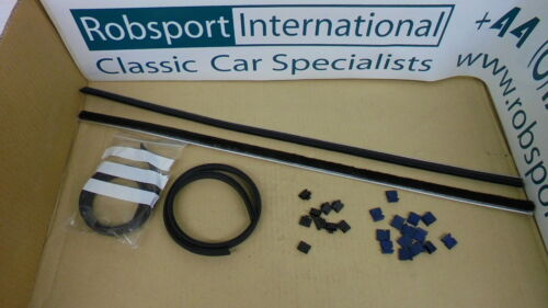 DOOR GLASS clips- CAR SET Triumph STAG ** WEATHERSTRIP KIT Inner,Outer **