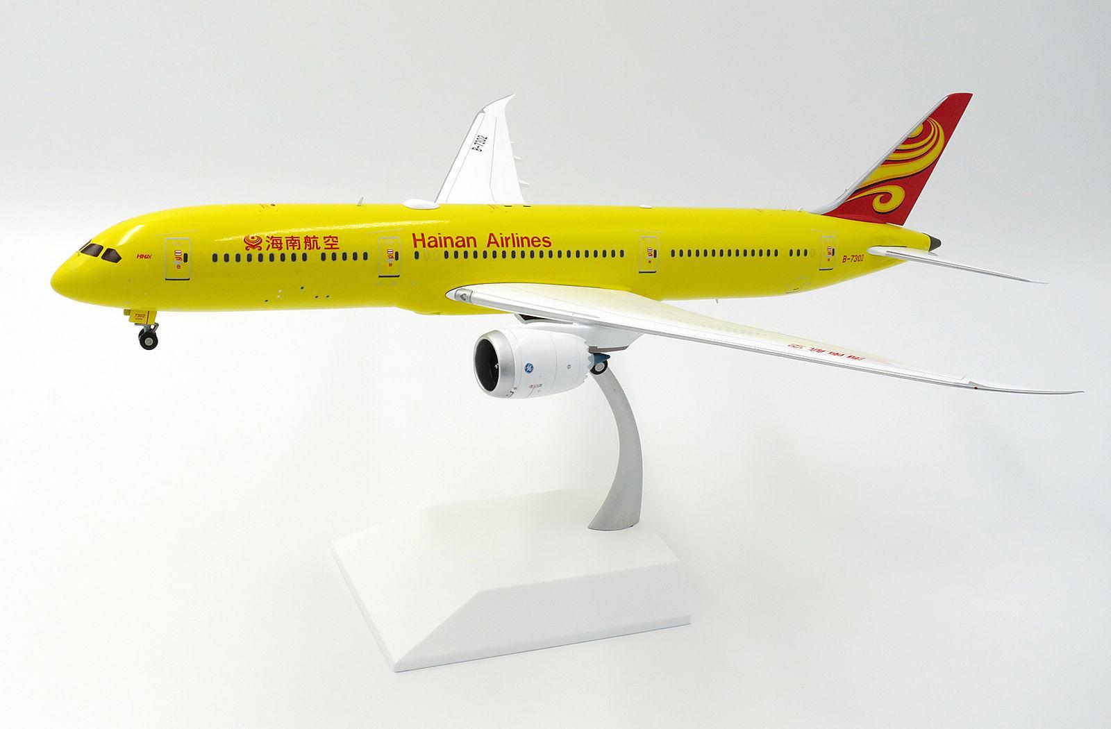 JC Wings 1 200 Hainan Airlines Boeing B787-900 Dreamliner 'All giallo' B-7302