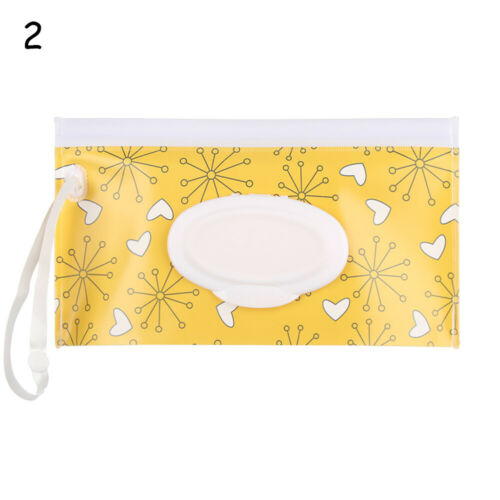 Clean Carrying Case Wet Wipe Bag Home Trendy Pouch Wipes Container Baby UK