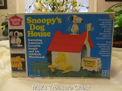 Vintage 1968 HASBRO Romper Room SNOOPY DOGHOUSE  * New in Original Box *