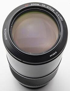 Minolta AF Zoom 70-210mm 1:4(32) 70-210 mm - Minolta Dynax / Sony A - Ofenrohr