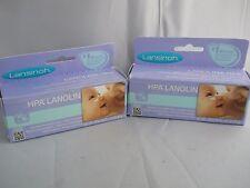 LANSINOH HPA LANOLIN BREASTFEEDING NIPPLE CREAM 1.41oz ( 2pk bundle) exp 2019