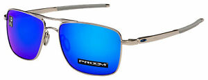 Oakley-Gauge-6-Sunglasses-OO6038-0257-Polished-Chrome-Prizm-Sapphire-Lens