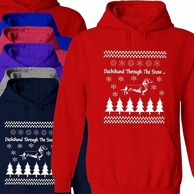 Dachshund Heartbeat Adult Crewneck Sweatshirt