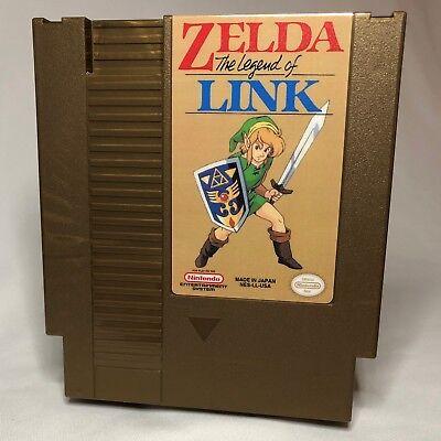 Zelda - The Legend of Link 2019 NES Homebrew repro NEWEST UPDATE | Zelda  NES | eBay