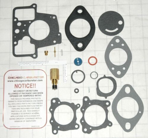 FORD AGRICULTURAL /& INDUSTRIAL 1BBL HOLLEY MODEL1940 1945 1976 CARB KIT 151520
