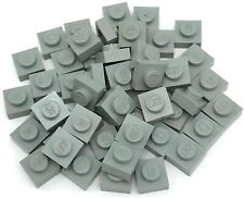 10 LEGO 1X1 DOT LIGHT GREY PLATES PARTS B930