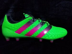 new products ac36a 56574 Image is loading ADIDAS-ACE-16-1-FG-AG-SOCCER-CLEATS-