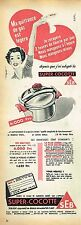 G- Publicité Advertising 1955 La Super Cocotte SEB