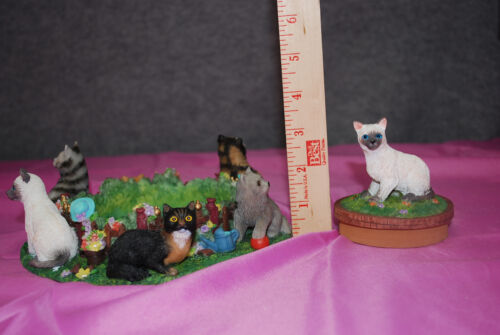 """NIB Resin JAR Candle Holder with Lid /""""ASST/'D CATS/"""" or /""""ASST/'D LABS/"""" #S4408"""