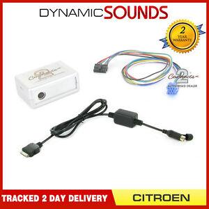 CTACTIPOD003-2-Auto-Ipod-IPHONE-Schnittstelle-Adapter-fuer-Citroen-C2-C3-C5-C8