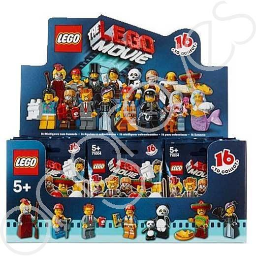 LEGO Movie Minifigures Collection Sealed Box of 60 Unopened Unopened Unopened Bags 71004 5b6287
