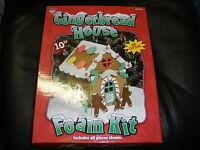 Gingerbread House Foam Kit 10 No Cutting
