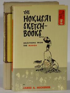 James-Michener-Hokusai-Sketch-Books-Manga-1958-first-edition-woodblock-prints