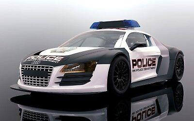 Scalextric C3932 Audi R8 Police Car Mint Unused Boxed Ebay