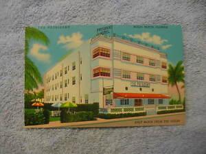 miami beach florida the president hotel art deco architecture