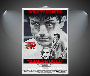 A1 A3 A2 A4 available Raging Bull DeNiro Vintage Movie Poster