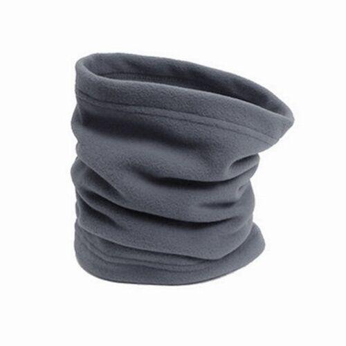 3in1 Men & Women Thermal Fleece Scarf Snood Ski Neck Warmer Face Mask Beanie Hat