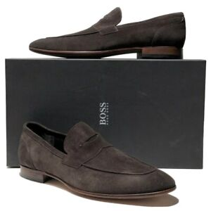 Hugo Boss Suede Loafers UK 7 US 8 | eBay