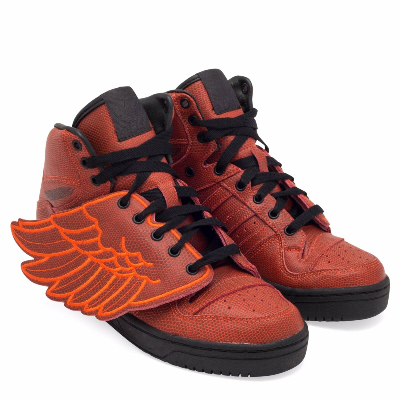 ADIDAS ORIGINALS JEREMY SCOTT JS WINGS BBALL MEN'S SHOES SIZE US 4 RED S77803