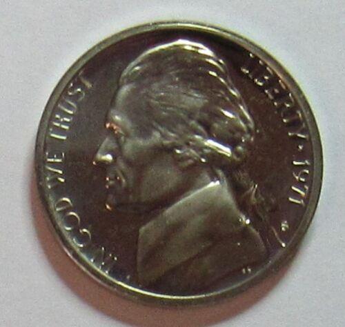 1971 S Proof Jefferson Nickel