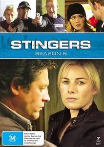Stingers-Season-8-Series-Eight-7-Disc-Set-DVD-FREE-POST