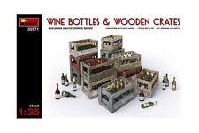 Miniart 35571 1/35 Wine Bottles & Wooden Crates