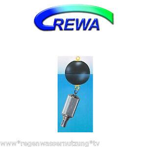 Wisy Balls flottants d&#039;- Filtre sagf en acier inoxydable, incl. 1&#034; schlauchtuelle  </span>
