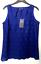 M-amp-S-BLUE-Bordado-de-Encaje-Algodon-Blusa-Top-senoras-8-Bnwt-Marks-amp-Spencer-Mujeres miniatura 2