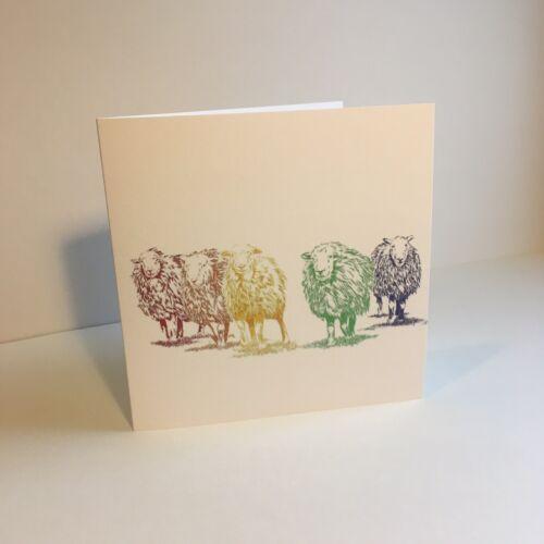 a Herdwick Sheep Greeting Card from an Ink drawing original Richard Of York