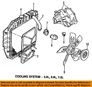 ford oem e 350 econoline club wagon cooling system thermostat gasket Ford E250 Cutaway image is loading ford oem e 350 econoline club wagon cooling