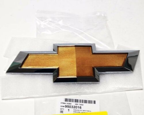 OEM 95032016 Gold Chrome Front Bumper Emblem for Chevrolet Cruze 2011-2014