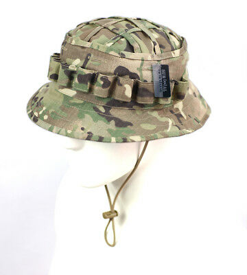 Tactical Ripstop Boonie Hat with Inner Pocket Hunter Sniper Ghillie Bucket Hats
