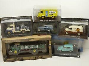 KAS38-LOT-de-6-voitures-PUBLICITAIRES-1-43-collection-casses-broken-models