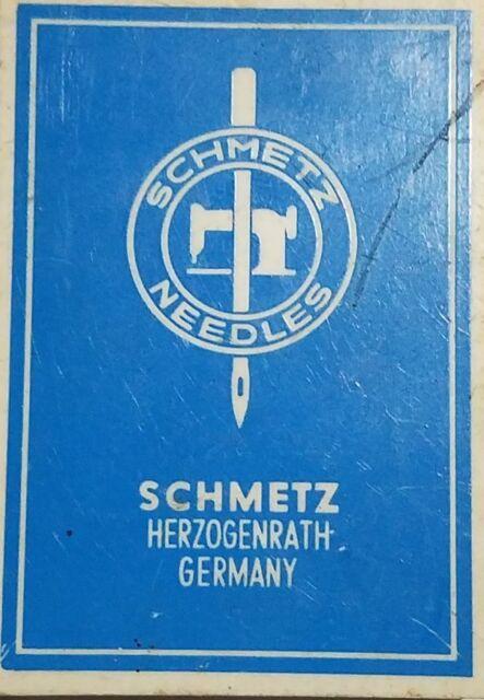 Schmetz-Rundkolbennadeln System 134 SUK Nm 100