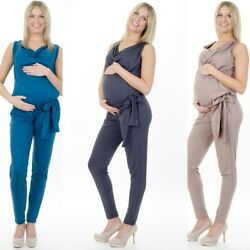 3in1 Umstandsmode Overall Einteiler Pregnancy Jumpsuit Umstandsoverall 69